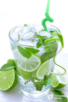 Мохито (Mojito) with Vodka Tea Recipes, Indian Food Recipes, Cooking Recipes, Coffee Bad For You, Smoothie, Sweet Cooking, Mojito Recipe, Fat Burning Detox Drinks, Cocktails