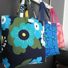 Kauppakasseja Sewing, Bags, Purses, Needlework, Stitching, Taschen, Totes, Hand Bags, Sew
