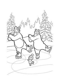 Masha_e_Urso_Bear_boomerang_desenhos_imprimir_colorir_pintar (8)
