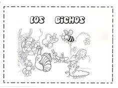 Proyecto para Infantil sobre bichos, para unir, pintar, pegar, colorear, agrupar...
