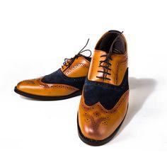 Buy these Tan Brogues@ INR 1925/- www.prideswalk.com