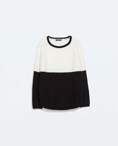 ZARA - WOMAN - Colour blocked sweater