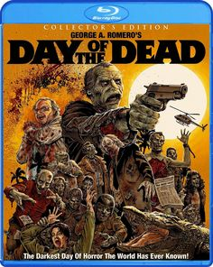 DAY OF THE DEAD COLLECTOR'S EDITION SCREAM FACTORY BLU-RAY