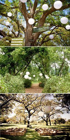 forest wedding decoration ideas | garden wedding decorations Five Ways to Decorate Your Garden Ceremony