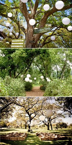 Outdoor ceremony decorations. My wedding theme is going to be country chic and it will be an outdoor ceremony. I would like a wedding invitation that also shows this style #pinBellaFigura