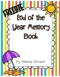 Check out this awesome FREEBIE!!! This is a great activity for those last couple days of school, plus it makes a great keepsake for students. Enjoy.