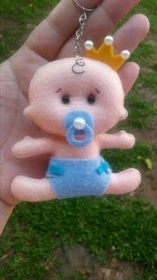 Feltro Fácil Moldes e Apostilas: baby felt