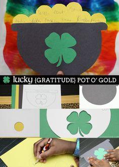 Lucky Gratitude Pot o Gold Sophistishe.com