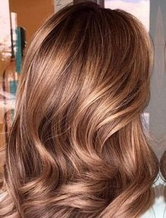 Golden brown caramel hair color blonde and brown