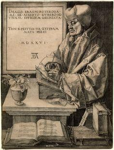 Albrecht Dürer: Erasmo de Rotterdam Metropolitan Museum of Art Renaissance Kunst, Die Renaissance, Vejle, Art Disney, Jan Van Eyck, Art Database, Art Graphique, Canvas Prints, Art Prints