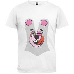 Halloween Twerk Bear White Costume T-Shirt Inspired by Miley Cyrus, 2013 VMAs