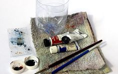 Small limited palette watercolor kit by john lovett