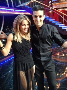 Candace Cameron Bure and Mark Ballas Dancing with the Stars