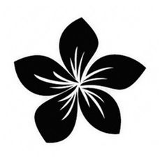 Plumeria Flower STENCIL Pick a size between for painting Signs Fabric Canvas Walls Furniture Scrapbook Airbrush Hawaiian Flower Tattoos, Hawaiian Flowers, Stencil Patterns, Stencil Designs, Stencil Painting, Painting On Wood, Stenciling, Stencil Walls, Airbrush