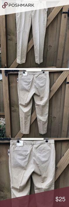 GAP NWT size 12 broken in straight khaki pants GAP NWT size 12 broken in straight khaki pants GAP Pants