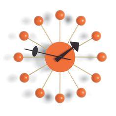 george nelson: #orange ball clock
