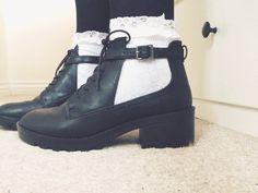 topshop cut out boots