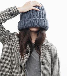 How To Knit The Portobello Beanie