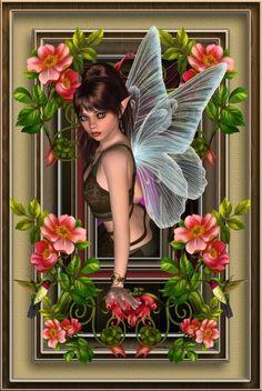 Unicorn And Fairies, Elves And Fairies, Fantasy Kunst, 3d Fantasy, Fairy Land, Fairy Tales, Fairy Sketch, Fairytale Creatures, Angel Drawing