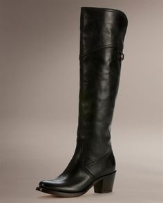 Frye tall Jane boot...super comfortable and look great with everything. favorite boot ever!!!
