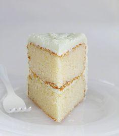 The Perfect Homemade White Cake