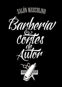 Echa un vistazo a este proyecto @Behance: \u201cLettering para barbería\u201d https://www.behance.net/gallery/36362371/Lettering-para-barberia
