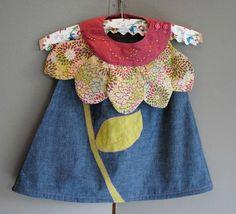 """Idée de déguisement """"fleur"""" pour petite fille (du zigzag sous la carapace)"""