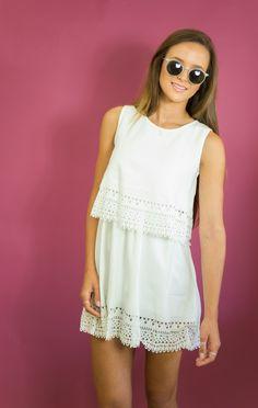 Zuma White Dress — Women's Clothing - Westwood Boutique - MODLOOK 29