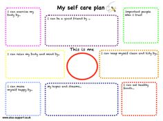 Worksheets Self Care Worksheets pinterest the worlds catalog of ideas self care for kids lots things to work on improve childrens well being