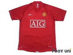 #manchesterunited #manchesterunited2007 #manchesterunited2009 #manchesterunitedshirt #manchesterunitedjersey #manchesteruniteduniform #aig - #footunijapan #footuni #onlinestore #onlineshop #football #soccer #footballshirt #footballjersey #footballuniform #soccershirt #soccerjersey #socceruniform #jersey #uniform #vintageclothing #vintagejersey #vintagefootballshirt #vintage #classic #retro #old #fussball #collection #collector #collective Soccer Uniforms, Soccer Shirts, Football Jerseys, Manchester United Premier League, Manchester United Shirt, Vintage Football Shirts, Vintage Jerseys, Jersey Uniform, Vintage Outfits