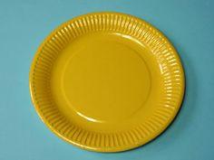 Sonnenblumen mit Handabdruck   Basteln & Gestalten Plates, Tableware, Diana, Hand Prints, Sunflowers, Summer, Projects, Licence Plates, Dishes