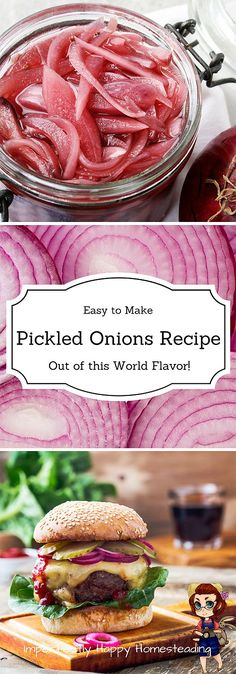 Easy Out of the World Pickled Onions Recipe! Delicious and no canning required.  add garlic  bring to boil