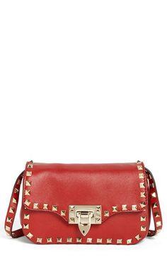 Valentino 'Rockstud - Small' Flap Bag available at #Nordstrom Santa baby!
