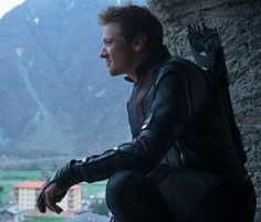 Aaww my hawkeye in age of ultron. More screen time and definitely major hero of the film. Aboutdangtime!