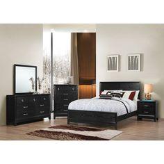 Latitude Run Simmons Casegoods Panel Customizable Bedroom Set