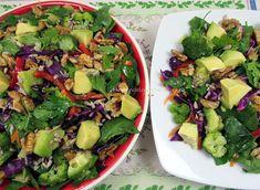 Salata Dietetica pentru Slabit si Detoxifiere ⋆ Retete Pentru O Viata Best Salad Recipes, Healthy Recipes, Healthy Food, Recipe Images, Cobb Salad, Broccoli, Food And Drink, Diet, Healthy Foods