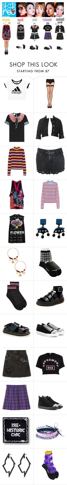 """""""RED VELVET - DUMB DUMB❤️"""" by mabel-2310 ❤ liked on Polyvore featuring Gucci, BB Dakota, UNIF, Miss Selfridge, House of Cannon, Christopher Kane, Jennifer Loiselle, Chanel, Issey Miyake and Hue"""
