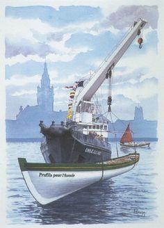 """Yole """"Profils pour l'Avenir"""", de Dunkerque  http://moteur.musenor.com/images/dunkerque_mp/g0104097.jpg"""