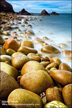 Pebbles in the sun.