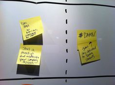 Pepsico brainstorm wall