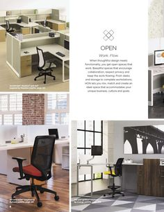 Inspiration for the open office design