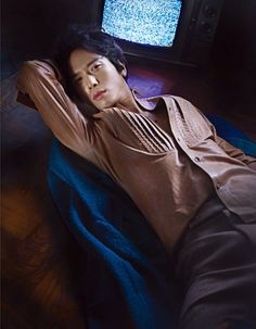 More of Jung Yonghwa For W Korea's January 2015 Edition | Couch Kimchi