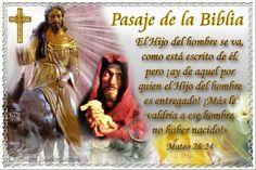 Vidas Santas: Santo Evangelio según san Mateo 26:24