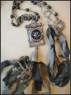 Black Beauty Necklace 3 by Diana Frey
