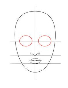 Image intitulée Draw a Face 5 Eye Drawing Tutorials, Drawing Tutorials For Beginners, Cartoon Drawing Tutorial, Gesture Drawing, Anatomy Drawing, Drawing Faces, Cartoon Faces, Cartoon Drawings, Easy Drawings
