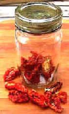 Drying tomatoes for storage using the sun, oven, or a dehydrator