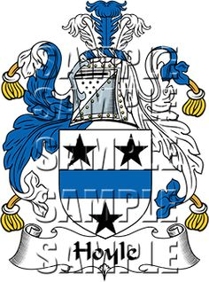 Hoyle Family Crest apparel, Hoyle Coat of Arms gifts