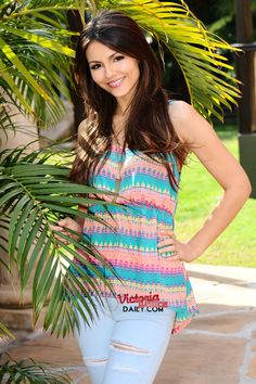 Victoria Justice, Victorious Season 1 Promoshoot.