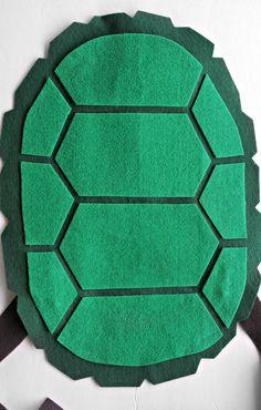 Caparazón DIY de las Tortugas Ninja
