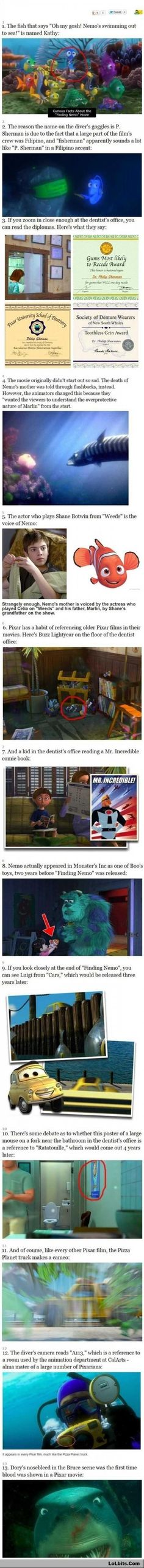 Facts About Finding Nemo Part 1